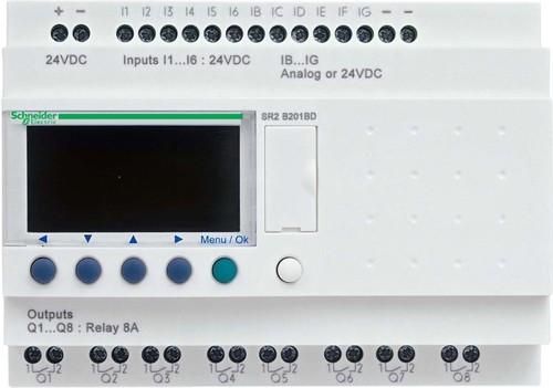 Schneider Electric Startpaket Zelio Logic 2 20 E/A100-240VAC SR2-PACK2FU