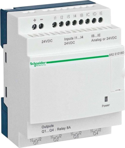 Schneider Electric Zelio Logic 12 E/A 24VDC SR2-E121BD