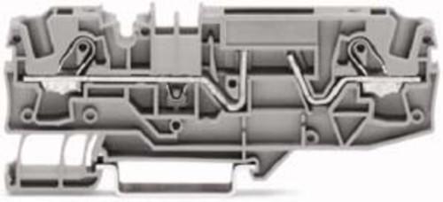 WAGO Kontakttechnik Sicherungsklemme 2-Leiter, grau 2006-1681