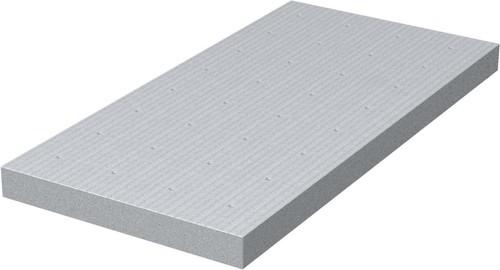 OBO Bettermann Vertr Kalziumsilikatplatte 1000x250x30mm gr-ws KSI-P3