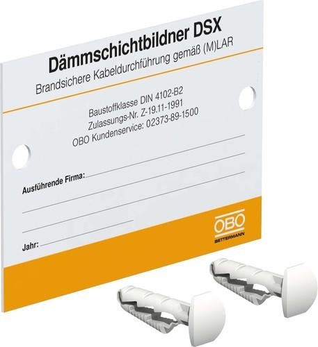 OBO Bettermann Vertr Kennzeichnungsschild f.Einzelkabeldurchf. KS-LAR DE