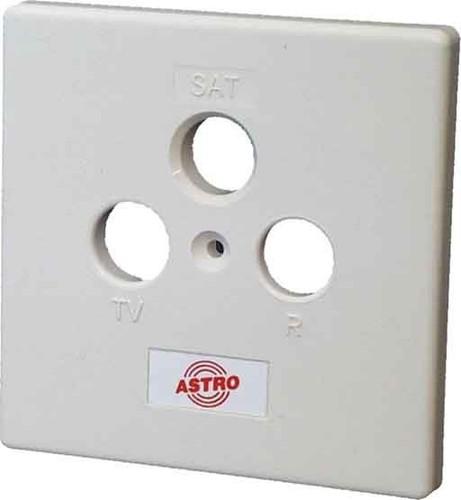 Astro Strobel Deckel reinweiß f.3-Lochdose GUZ 450