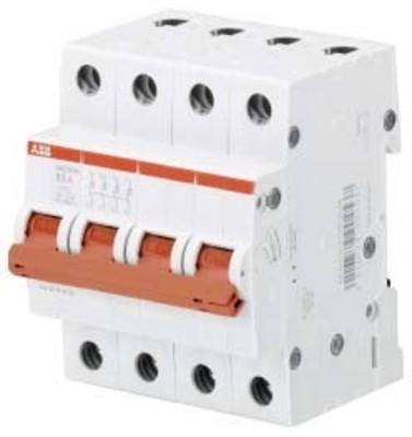 ABB Stotz S&J Lasttrennschalter 4-polig, 63A SHD204/63