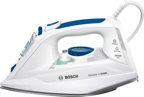 Bosch Kleingeräte+HT Dampfbügeleisen Sensixx x DA30 TDA302401W weiß/bl