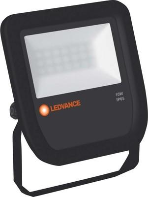 LEDVANCE LED-Fluter 3000K IP65 BK FLOODL10W3000KBKIP65