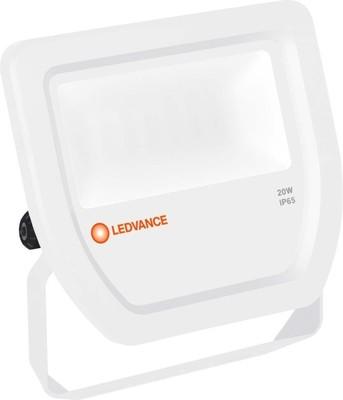 LEDVANCE LED-Fluter 4000K IP65 WT FLOODL20W4000KWTIP65