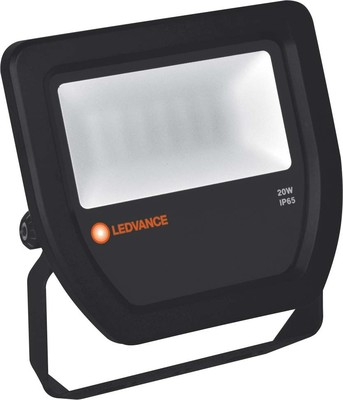 LEDVANCE LED-Fluter 6500K IP65 BK FLOODL20W6500KBKIP65