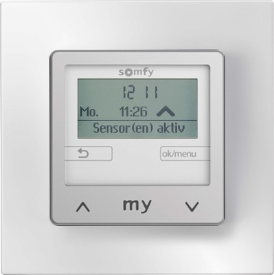 Somfy Wandsender Soliris Smoove IB+ Pure mit Rahmen 1818274