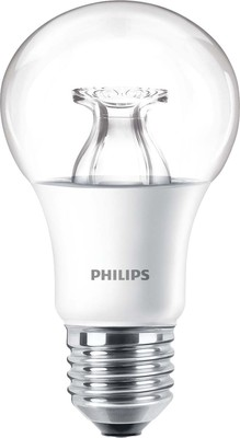 Philips Lighting LED-Lampe klar 827 E27 DIMTONE MSTRLEDbulb#48132500