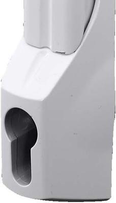 Rittal Mini Komfortgriff + Vorreiber RAL7035 SZ 2537.000