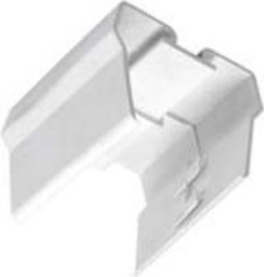 Siteco Stoßstellen-Abdeckung weiß Kunststoff 5LS90900XD