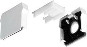Siteco Stirnwand Kunststoff weiß 5LS90910XD (VE2)
