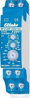 Eltako Zeitrelais,multifunktion 1S,16A/250V AC MFZ12NP-230V+UC