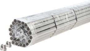 Fränkische Kunststoff-Stangenrohr inkl.Clipfix FPKu-EM-F 25 (VE74m)
