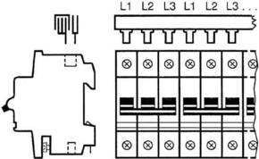 ABB Stotz S&J Sammelschienenblock SZ-PSB23N