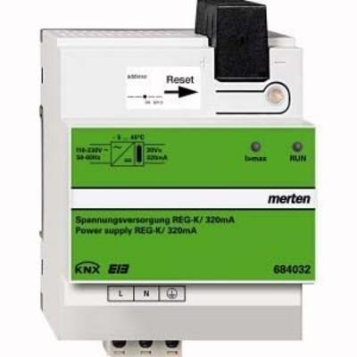 Merten KNX Spannungsversorgung RE G-K/320 mA, lichtgra 684032