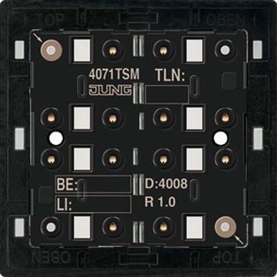 Jung KNX Tastsensor-Modul Standard 1-fach 4071 TSM