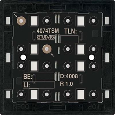 Jung KNX Tastsensor-Modul Standard 4-fach 4074 TSM