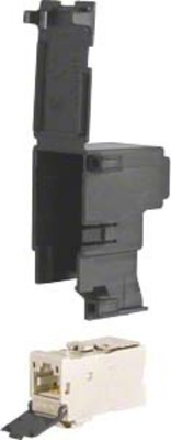 Hager RJ45-Buchse, IP2X, für Zusatzraum ZZ45ZP6