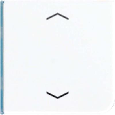 Jung Taste 4-fach lichtgrau Symbol Auf/Ab CD 404 TSAP LG 14