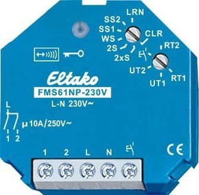 Eltako Funkaktor Multifunktions Stromstoßschalter FMS61NP-230V