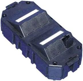 Panduit Mini-Com Bodentankdose schwarz 9-fach CFPGAS9SBL
