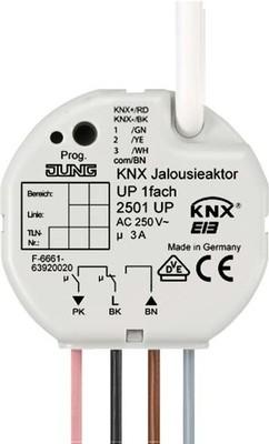 Jung KNX Jalousieaktor 1-fach UP Nebenstellenans. 2501 UP