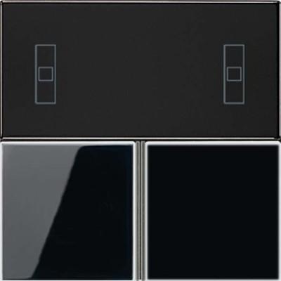 Jung Tastensatz schwarz komplett LS 4093 TSA SW