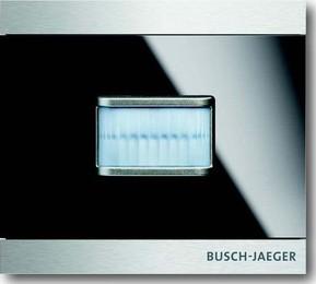 Busch-Jaeger Bewegungsmelder prion Glas schwarz 6345-825-101