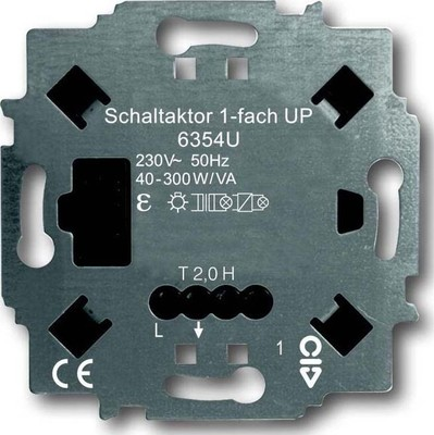 Busch-Jaeger Schaltaktor UP 1-fach 6354 U
