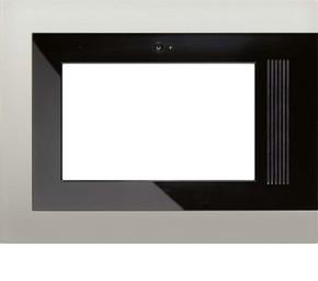 Jung Rahmen edelstahl für Flat Panel PC R 9 ES E