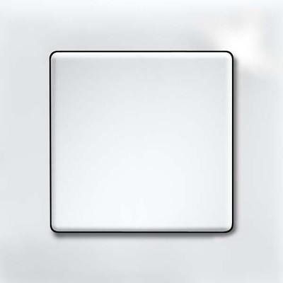Eltako Q-Rahmen 1-fach weiss glänzend QR1K-gw
