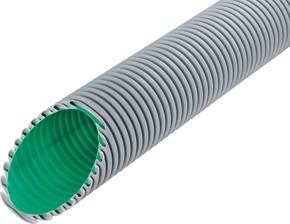 Fränkische Kabelschutzrohr flexibel schwarz Kabuflex R Beton 110