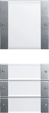 Gira Wippenset 4-fach aluminium 213426