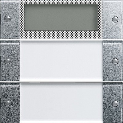 Gira Wippenset 2-fach aluminium 214226