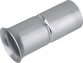 Fränkische Aluminium-Steckendtülle f. Alu Steck-ES AES-E 32