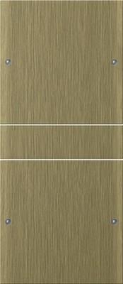 Gira Wippenset 2-fach ch bronze 2132605