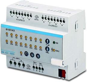 Busch-Jaeger DALI-Lichtregler AP 1-fach ch Gateway 6197/43