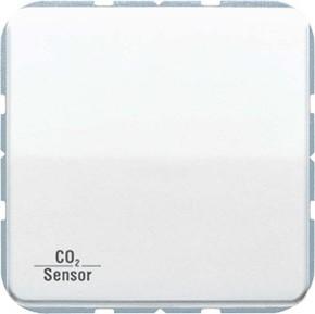 Jung KNX CO2-Sensor, RT-Regler Luftfeuchtesensor aw CO2 CD 2178 WW