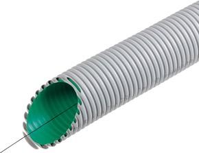 Fränkische Kabelschutzrohr flexibel, grau KabuflexR plus 750