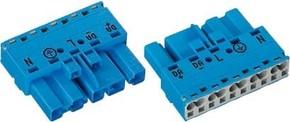 WAGO Kontakttechnik Stecker 5-polig, blau 770-1115