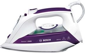 Bosch Kleingeräte+HT Dampfbügeleisen CeraniumGlissee TDA5028020 weiß/d-lila