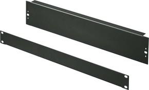 Rittal Blindpanel 1HE RAL9005 DK 7151.005(2 Stück)