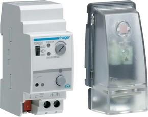Hager Dämmerungsschalter KNX,1-6 Kanal+Sensor TXA026