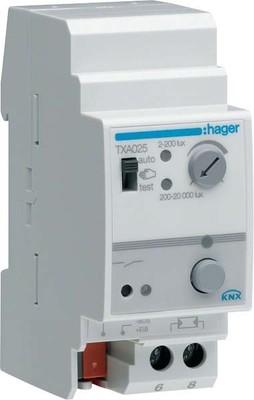 Hager Dämmerungsschalter KNX, 20kL TXA025