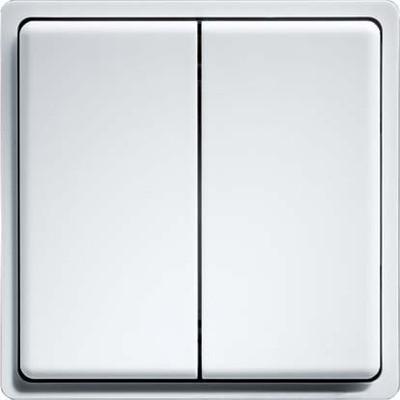 Eltako Funk-Minitaster reinweiß glänzend FMT55/4-wg