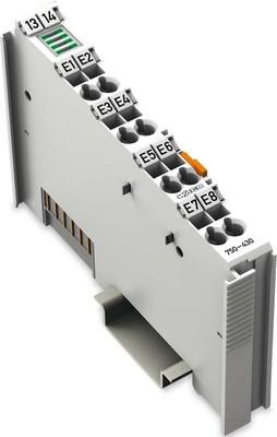 WAGO Kontakttechnik Digitale Eingangsklemme 8-Kanal DC24V 3.0ms 750-430