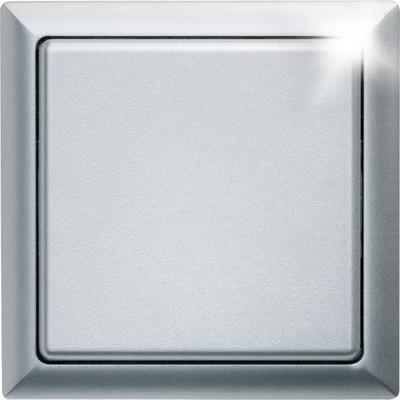 Eltako Funk-Flächentaster aluminium lackiert FT4F-al
