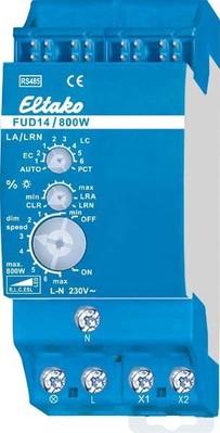 Eltako Univ.-Dimmschalter 800W, LED/ESL 400W FUD14/800W