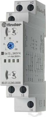 Finder Multifunktions-Zeitrelais 12-240V AC/DC,1W,16A 80.01.0.240.0000